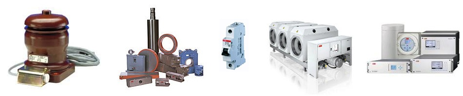 ABB products by the manufacturer