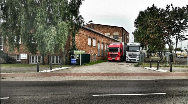 Сбор грузов на наш консолидационный склад в Берлине
